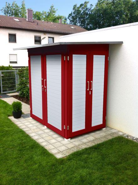 WEKA | Garten [Q]® Kompakt | 200x125 cm | Zweeds rood